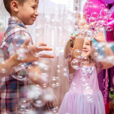 Генератор мыльных пузырей №3