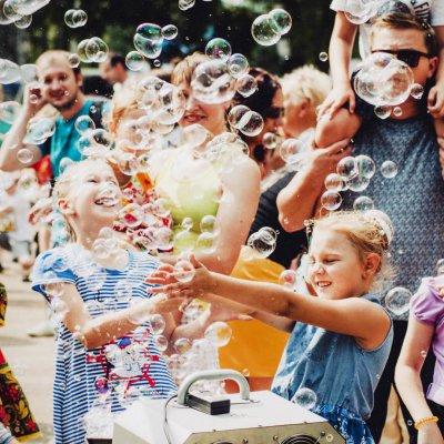 Генератор мыльных пузырей №2