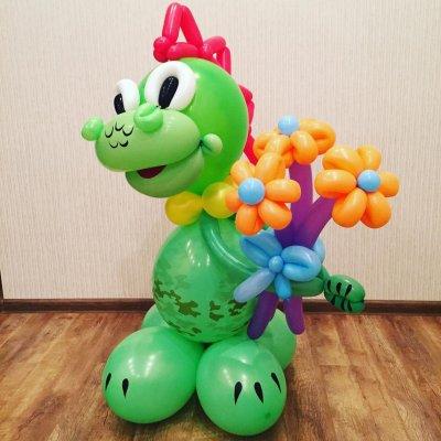 Шары с динозаврами 9