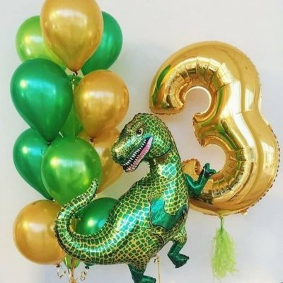 Шары с динозаврами 10