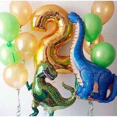 Шары с динозаврами 6