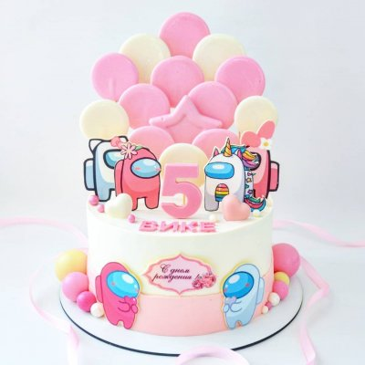 Торт Амонг Ас №23