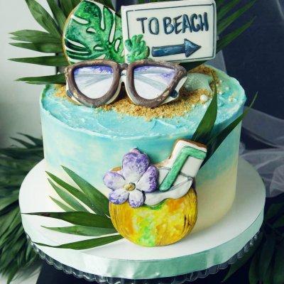 Торт Гавайи №7