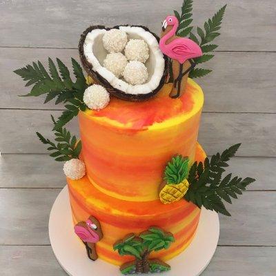 Торт Гавайи №16