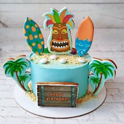 Торт Гавайи №4