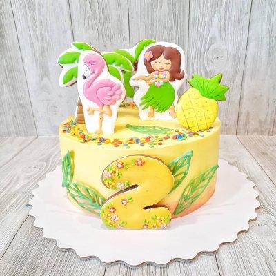 Торт Гавайи №6