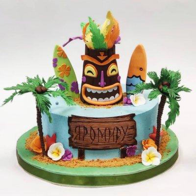 Торт Гавайи №9