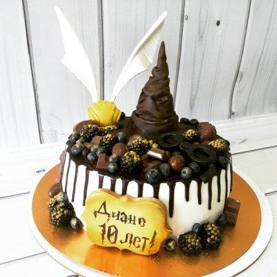 Торт Гарри Поттер №2
