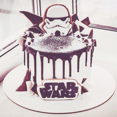 Торт Звездные войны №23
