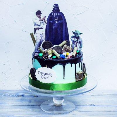 Торт Звездные войны №6