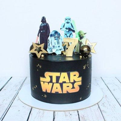 Торт Звездные войны №11