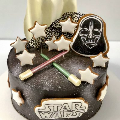 Торт Звездные войны №7