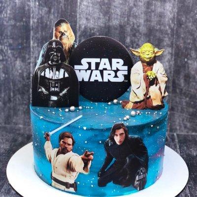 Торт Звездные войны №1