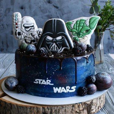 Торт Звездные войны №12
