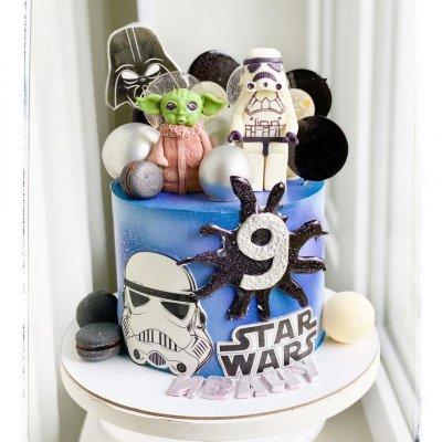 Торт Звездные войны №15