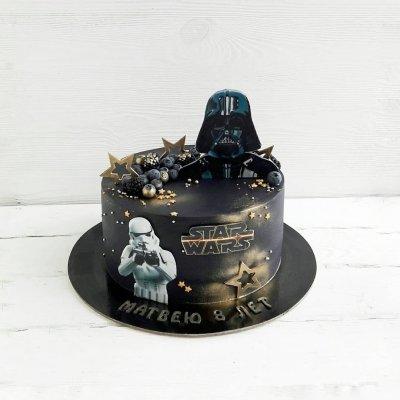 Торт Звездные войны №5