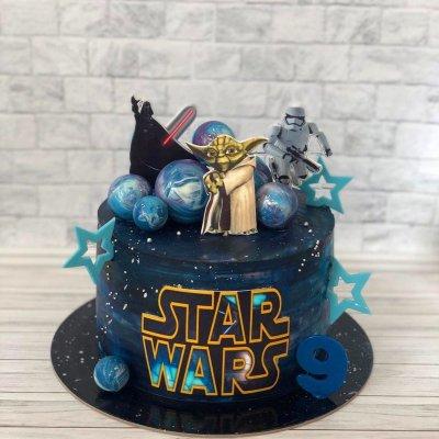 Торт Звездные войны №3
