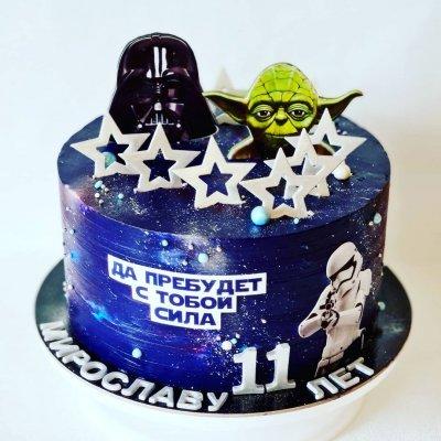 Торт Звездные войны №4