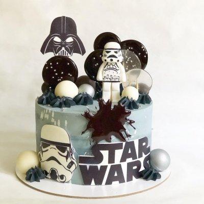 Торт Звездные войны №9