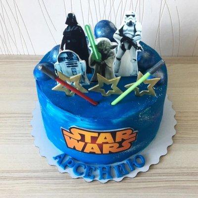 Торт Звездные войны №17