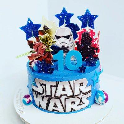 Торт Звездные войны №21