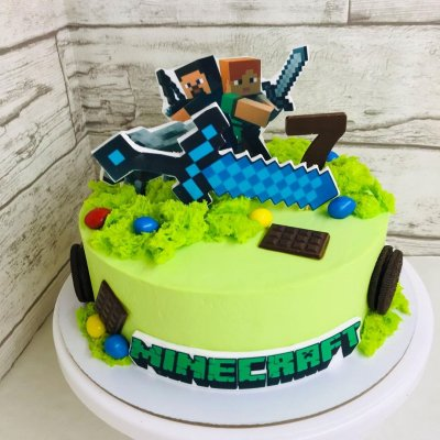Торт Майнкрафт №6