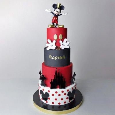Торт Микки Маус №6