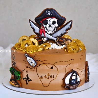 Пиратский торт №22