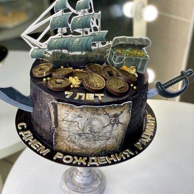 Пиратский торт №16