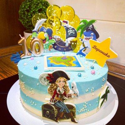 Пиратский торт №9