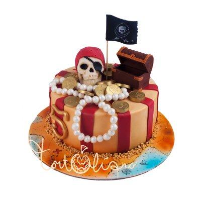 Пиратский торт №24