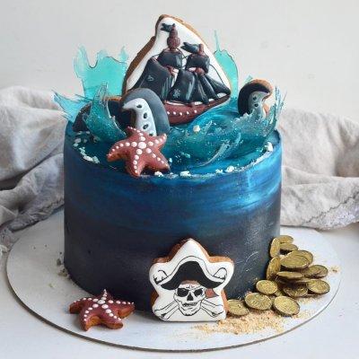 Пиратский торт №12