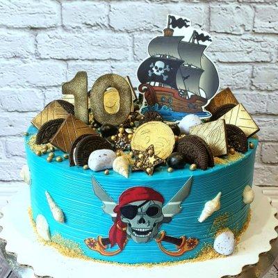 Пиратский торт №3