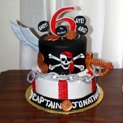 Пиратский торт №2