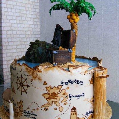 Пиратский торт №8