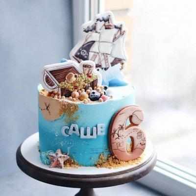 Пиратский торт №13