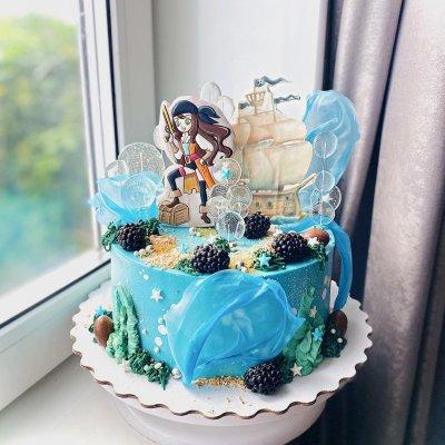 Пиратский торт №7