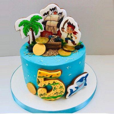 Пиратский торт №15