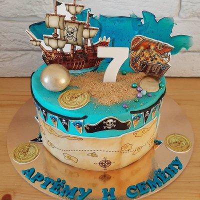Пиратский торт №1