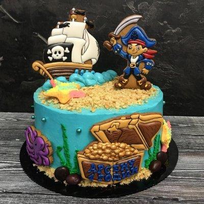Пиратский торт №5