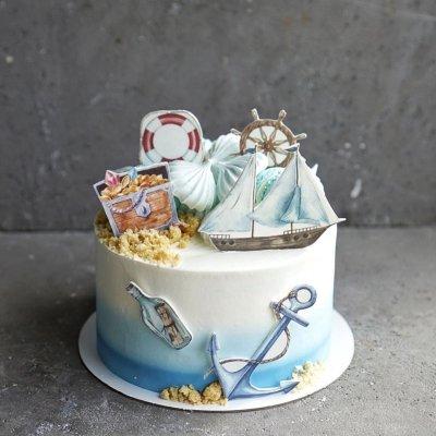 Пиратский торт №18