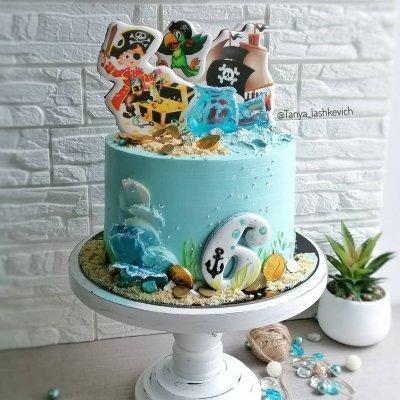 Пиратский торт №17