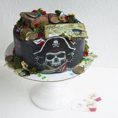 Пиратский торт №23
