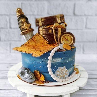 Пиратский торт №20