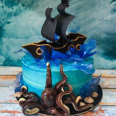 Пиратский торт №14