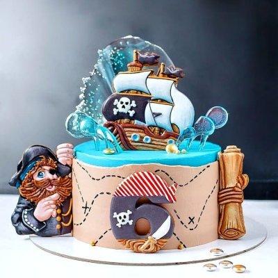 Пиратский торт №4