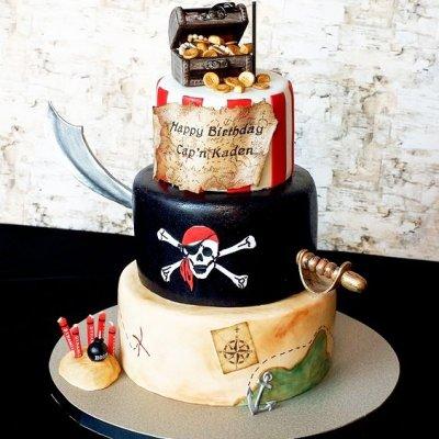 Пиратский торт №21