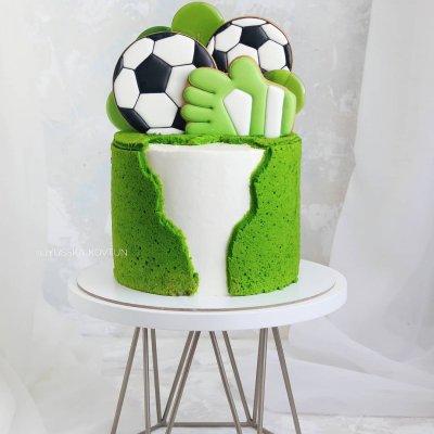 Торт футбол №3