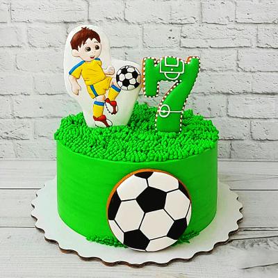 Торт футбол №11