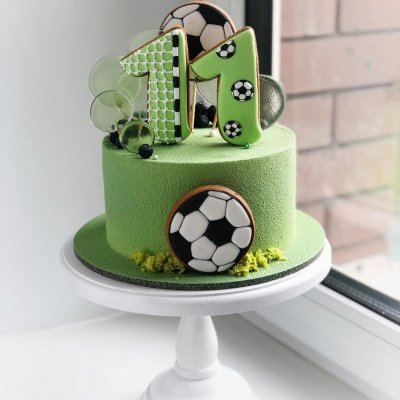 Торт футбол №8